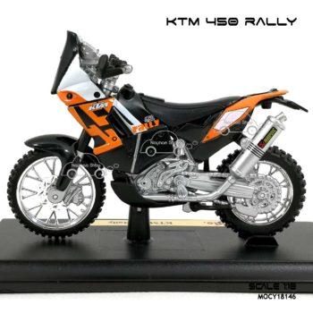โมเดล แรลลี่ KTM 450 RALLY (1:18)