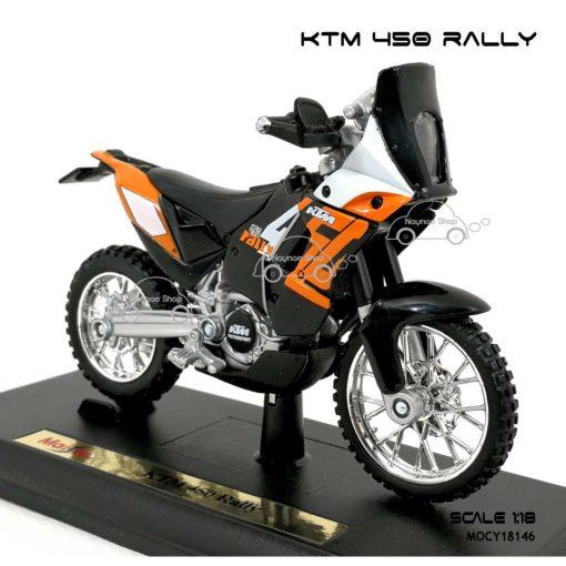 โมเดล แรลลี่ KTM 450 RALLY (1:18) โมเดลสำเร็จ
