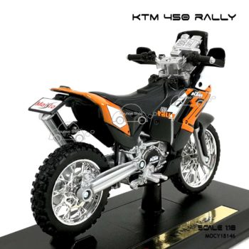 โมเดล แรลลี่ KTM 450 RALLY (1:18) ผลิตโดย Maisto