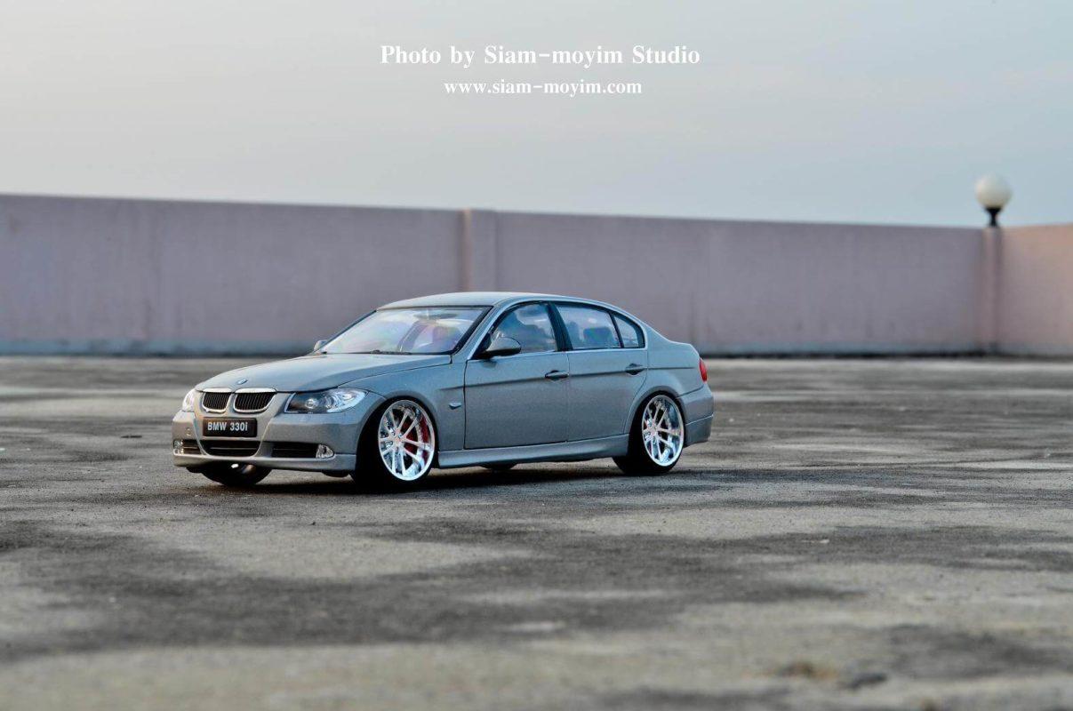 BMW 330i โมเดลรถแต่ง (1:24) รถแต่ง งานสวยๆ