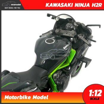 โมเดลบิ๊กไบค์ KAWASAKI NINJA H2R (Scale 1:12) โมเดลมอเตอร์ไซด์ จำลองสมจริง