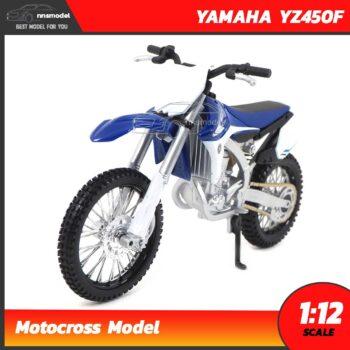 โมเดลมอเตอร์ไซด์ รถวิบาก YAMAHA YZ450F (Scale 1:12) Motocross Model