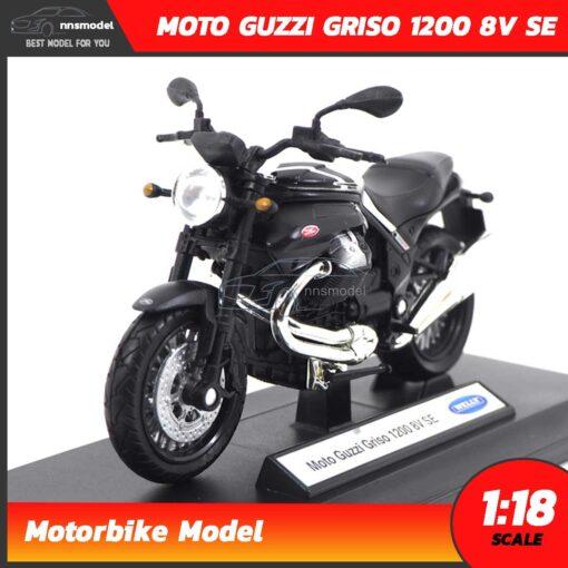 โมเดลมอเตอร์ไซด์ MOTO GUZZI GRISO 1200 8V SE (Scale 1:18)