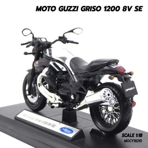 โมเดลมอเตอร์ไซด์ MOTO GUZZI GRISO 1200 8V SE (1:18) โมเดลประกอบสำเร็จ