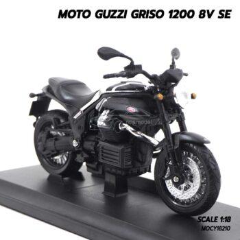 โมเดลมอเตอร์ไซด์ MOTO GUZZI GRISO 1200 8V SE (1:18) โมเดลจำลองสมจริง