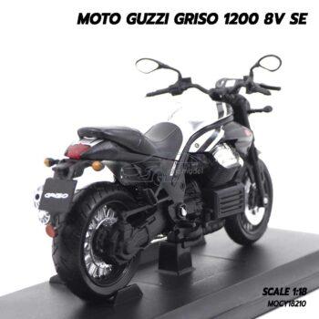 โมเดลมอเตอร์ไซด์ MOTO GUZZI GRISO 1200 8V SE (1:18) พร้อมฐานวางตั้งโชว์
