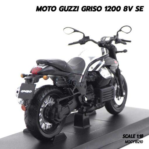 โมเดลมอเตอร์ไซด์ MOTO GUZZI GRISO 1200 8V SE (1:18) โมเดลบิ๊กไบค์ จำลองสมจริง