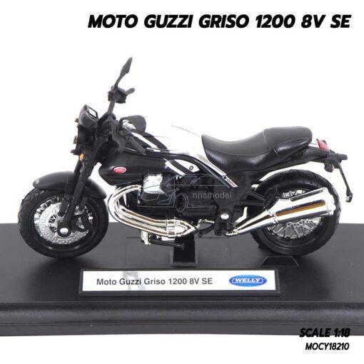 โมเดลมอเตอร์ไซด์ MOTO GUZZI GRISO 1200 8V SE (1:18) โมเดลรถสะสม รุ่นขายดี