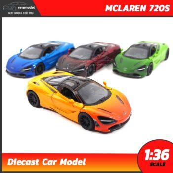 โมเดลรถซุปเปอร์คาร์ MCLAREN 720S (Scale 1:36)