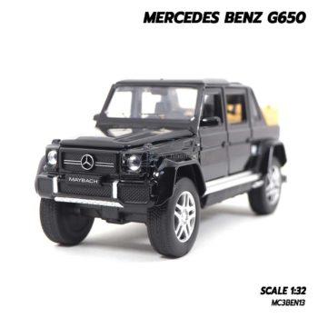 โมเดลรถเบนซ์ MERCEDES BENZ G650 สีดำ (Scale 1:32)