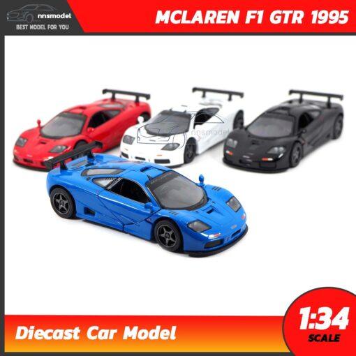 โมเดลรถเหล็ก MCLAREN F1 GTR 1995 (Scale 1:34)