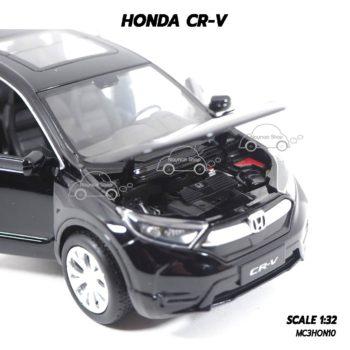 โมเดลรถ ฮอนด้า CRV สีดำ (1:32) เครื่องยนต์จำลองเหมือนจริง