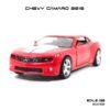 โมเดลรถ CHEVY CAMARO 2010 สีแดง (1:36)