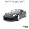 โมเดลรถ FERRARI F12 BERLINETTA สีดำด้าน (1:32)