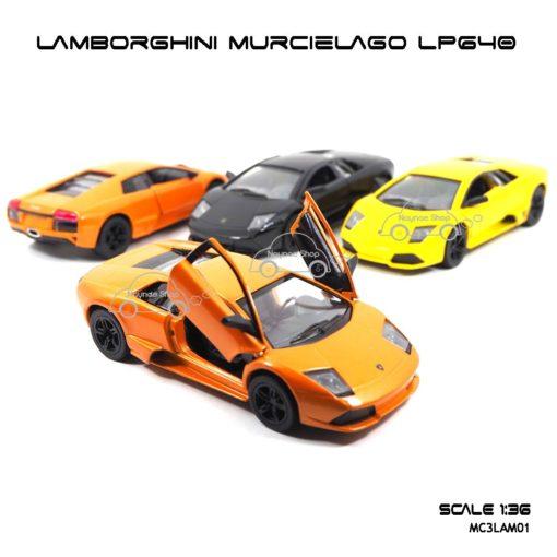 โมเดลรถ LAMBORGHINI MURCIELAGO LP640 (1:36)