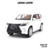 โมเดลรถ LEXUS LX570 สีขาว (1:32) โมเดลรถประกอบสำเร็จ