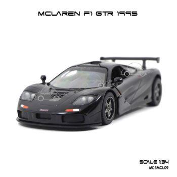 โมเดลรถเหล็ก MCLAREN F1 GTR 1995 สีดำ (1:34)