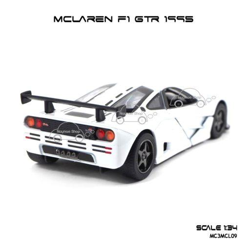 โมเดลรถเหล็ก MCLAREN F1 GTR 1995 สีขาว (1:34) รถของเล่น มีรุ่นให้เลือกเยอะ