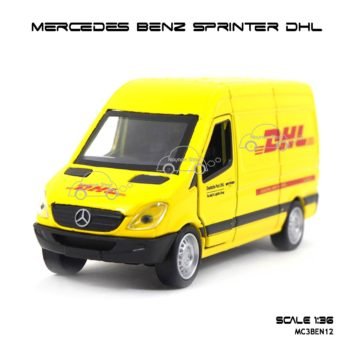 โมเดลรถ MERCEDES BENZ SPRINTER DHL (1:36)