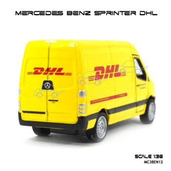 โมเดลรถ MERCEDES BENZ SPRINTER DHL (1:36) รถโมเดลเหมือนจริง