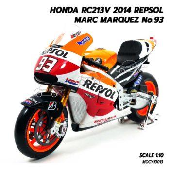 โมเดล Motogp MARC MARQUEZ No.93 Honda RC213V 2014 (1:10) มาเกรช รุ่นขายดีที่สุด
