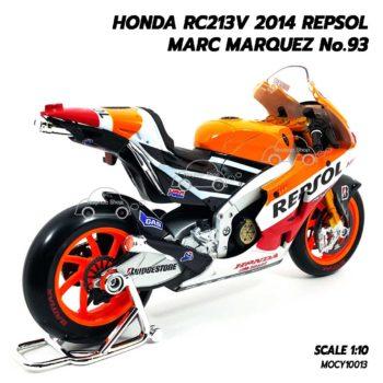 โมเดล Motogp MARC MARQUEZ No.93 Honda RC213V 2014 (1:10) มาเกรช แชมป์ รุ่นขายดีที่สุด