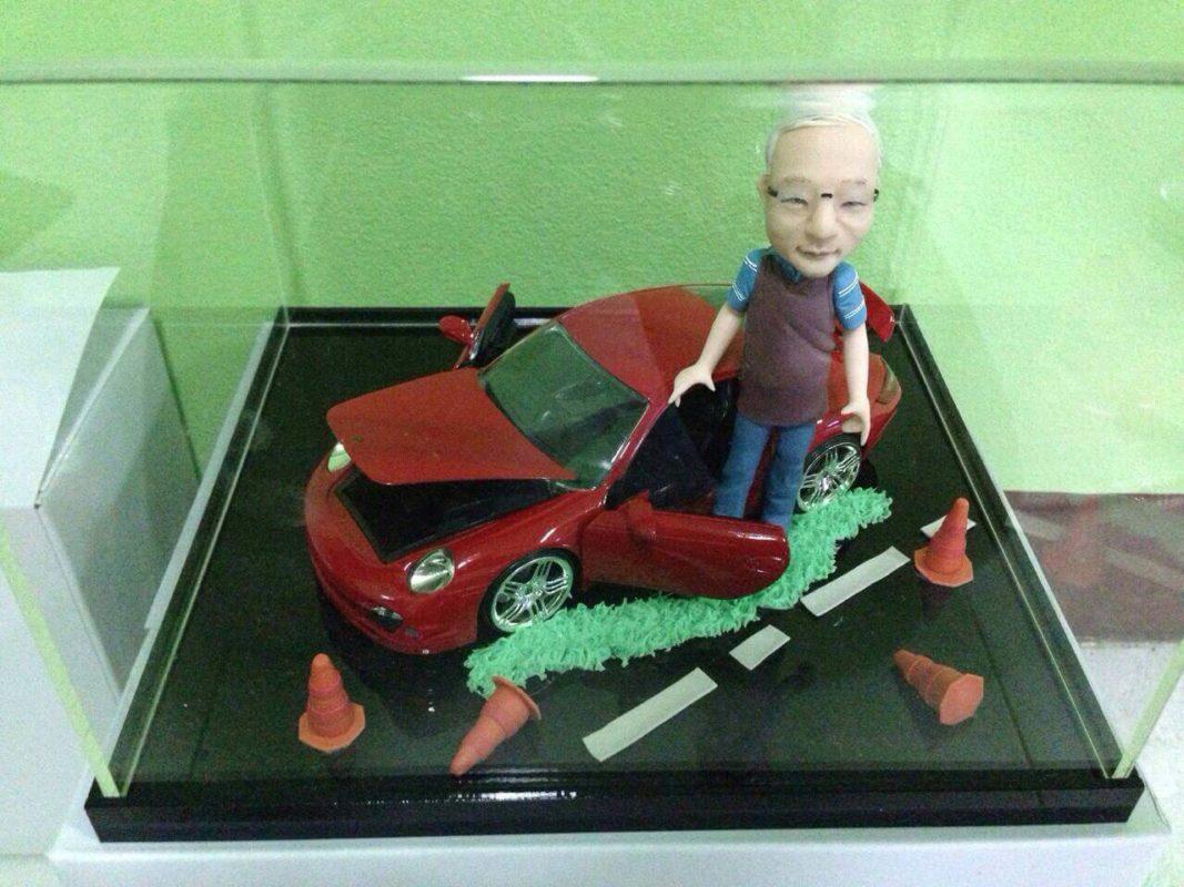 โมเดล Porsche 911 หุ่นปั้น