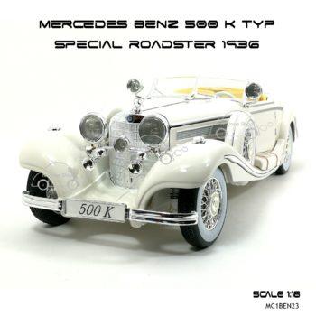 โมเดลรถ MERCEDES-BENZ-500-K-TYP-SPECIAL-ROADSTER