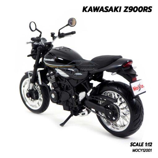 โมเดลมอเตอร์ไซด์ KAWASAKI Z900RS (Scale 1:12) โมเดลรถสะสม Maisto