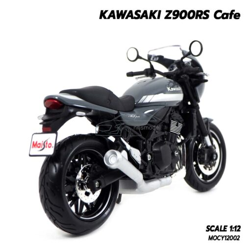 โมเดลมอเตอร์ไซด์ KAWASAKI Z900RS (Scale 1:12) โมเดลรถสะสม ประกอบสำเร็จ