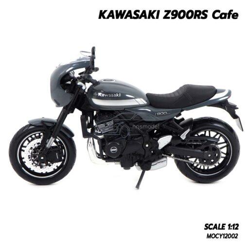 โมเดลมอเตอร์ไซด์ KAWASAKI Z900RS (Scale 1:12) โมเดลรถสะสม โช๊คอัพกดขึ้นลงได้สมจริง