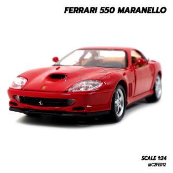 โมเดลรถ FERRARI 550 MARANELLO (1:24) โมเดลประกอบสำเร็จ ลิขสิทธิแท้