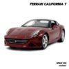 โมเดลรถ FERRARI CALIFORNIA T สีแดง (1:24)