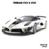 โมเดลรถ FERRARI FXX K EVO สีขาว (1:18) โมเดลรถสวยๆ เหมือนจริง