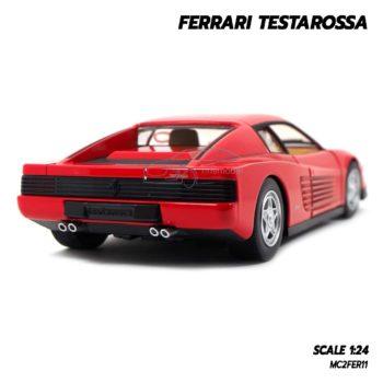 โมเดลรถ FERRARI TESTAROSSA (1:24) โมเดลเฟอร์ราร่ี่คลาสสิค