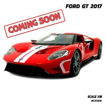 โมเดลรถ Ford GT 2017