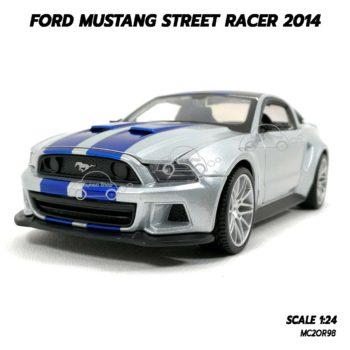 โมเดลรถ FORD MUSTANG STREET RACER 2014 (1:24)