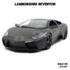 โมเดลรถ Lamborghini Reventon สีเทาดำ (1:18) รุ่นขายดี พร้อมตั้งโชว์