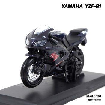 โมเดลบิ๊กไบค์ YAMAHA YZF-R1 สีดำ (Scale 1:18)