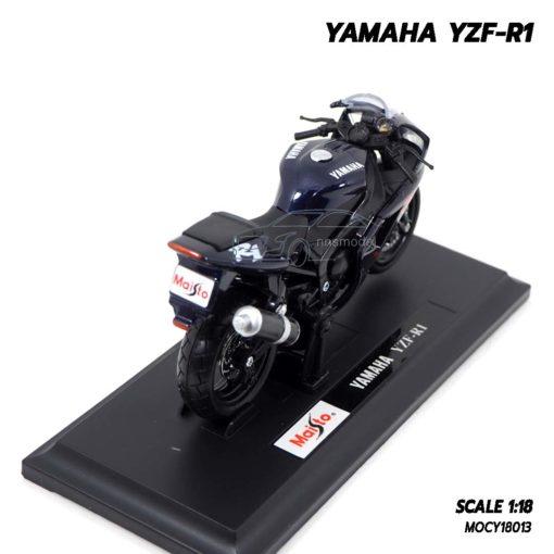 โมเดลบิ๊กไบค์ YAMAHA YZF-R1 สีดำ (Scale 1:18) รถโมเดลเหมือนจริง