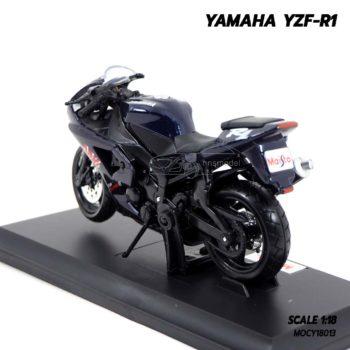 โมเดลบิ๊กไบค์ YAMAHA YZF-R1 สีดำ (Scale 1:18) ผลิตโดยแบรนด์ Maisto