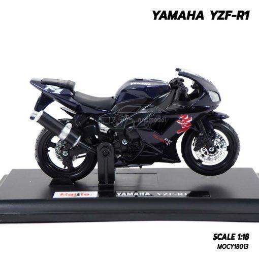 โมเดลบิ๊กไบค์ YAMAHA YZF-R1 สีดำ (Scale 1:18) โมเดลสวยเหมือนจริง