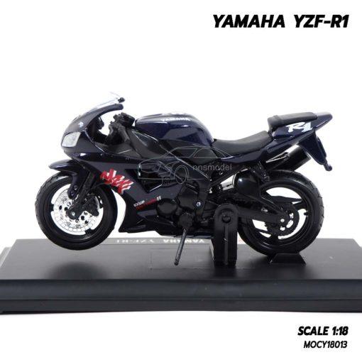 โมเดลบิ๊กไบค์ YAMAHA YZF-R1 สีดำ (Scale 1:18) โมเดลซิ่ง
