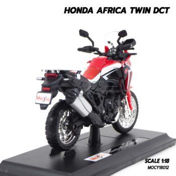 โมเดลมอเตอร์ไซด์ HONDA AFRICA TWIN (Scale 1:18) โมเดลประกอบสำเร็จ
