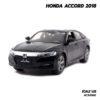 โมเดลรถ ฮอนด้า HONDA ACCORD 2018 สีดำ (1:32)