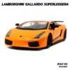 โมเดลรถ LAMBORGHINI GALLARDO SUPERLEGGERA สีส้ม (1:24)