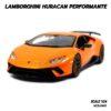โมเดล LAMBORGHINI HURACAN PERFORMANTE สีส้ม (1:24)