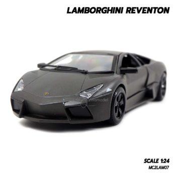 โมเดลรถ Lamborghini Reventon สีเทาดำ (1:24) Diecast Models