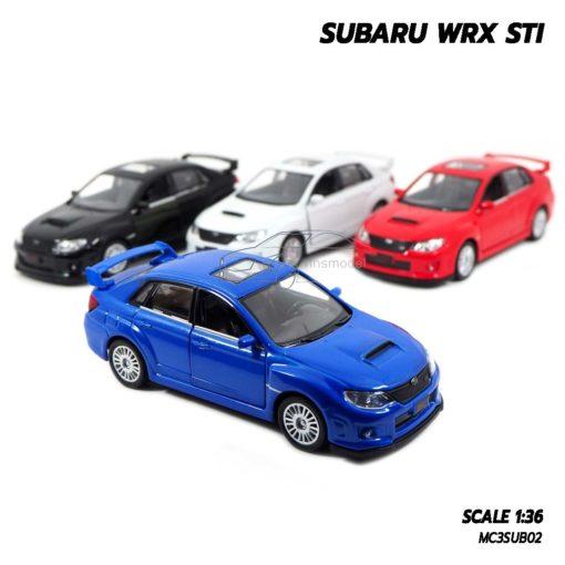 โมเดลรถ SUBARU WRX STI (1:36)