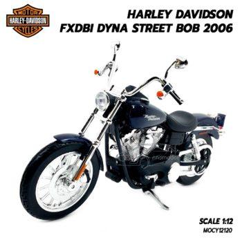 โมเดลฮาเล่ย์ HARLEY DAVIDSON DYNA STREET BOB 2006 (1:12)